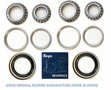 Front (OEM) KOYO Wheel Bearing & Seal Set For 2000-2005 Ford Excursion (2WD)