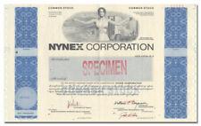 NYNEX Corporation Specimen Stock Certificate (Big NYC Vignette!)