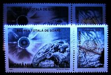 1999 Sun Eclipse,Sonnenfinsternis,Romania,5420,TAB,MNH,Fluorescent Paper variety