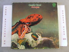 GENTLE GIANT OCTOPUS LP 1972 GERMAN ISSUE VERTIGO 6360 080