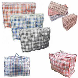 Strong Quality Medium Storage Shopping Laundry bags Reusable Zipped Handles