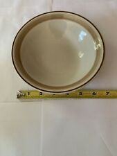 Vintage 1970s Soup Salad Bowl Hearthside Japan Water Colors Hand Decorated