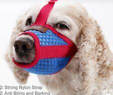 New Doglemi adjustable nylon dog muzzle. Size L Shipped free in the Usa.