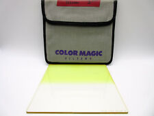 "Color Magic 6.6x6.6"" Yellow #4 Soft Grad Resin Filter"