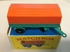 "MATCHBOX LESNEY #2 "" MERCEDES TRAILER WITH BOX ""   k"