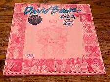 DAVID BOWIE UP THE HILL BACKWARDS B/W CRYSTAL ORIGINAL FIRST PRESS LP ~ SEALED!