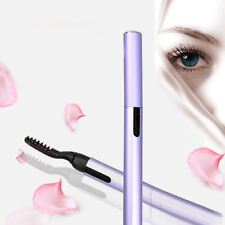 Portable Electric Pen Style Heated Eyelash Curler Lashes Lasting Makeup Tool