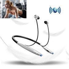Bluetooth Headset Neckband Sport Earphone Earbud Headphone for Samsung iPhone Lg