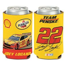 Joey Logano 2016 Wincraft #22 Shell/Pennzoil 12oz Can Coolie Free Ship!