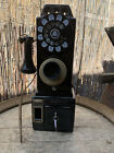 Antique Pay Telephone 1920's Automatic Electric Payphone WORKING