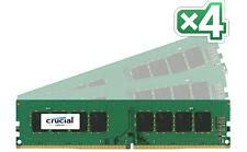Crucial CT4K8G4DFD8213 (32 GB, PC3-17000 (DDR3-2133), DDR4, 2133 MHz, UDIMM) RAM Module