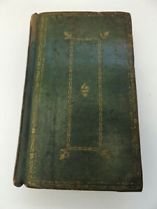 1796 The BOOK of COMMON PRAYER Leather Binding PSALTER Psalms of David BIBLE
