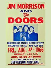 "The Doors New York City 16"" x 12"" Photo Repro Concert Poster"