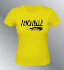 Tee shirt personnalise Brice de Nice S M L XL femme prenom ville au choix