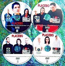 PLACEBO Retrospective Music Video Promo Reel with 67 Vids 4 DVD Set Brian Molko
