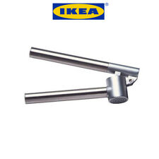 iKea KONCIS Garlic Press Clove Crusher Stainless Steel Removable Insert