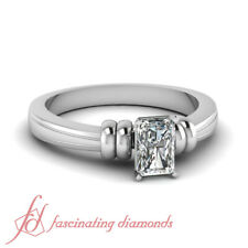 297dd011b .60 Ct Radiant Cut Platinum Diamond Fancy Duple Solitaire Engagement Ring  GIA .
