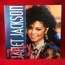 "JANET JACKSON Nasty 1986 UK 3-track 12"" Vinyl Single EXCELLENT CONDITION B"