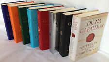 Complete Diana Gabaldon Outlander Series Eight Book Hardcover Set Collection