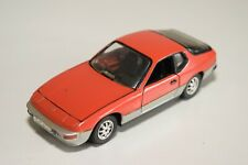 A2 1:43 SCHUCO PORSCHE 924 RED WITH METALLIC GREY NEAR MINT CONDITION