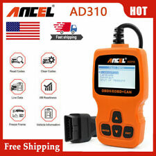 Automotive OBDII Scanner Code Reader Car Engine Check Fault Code Diagnostic Tool
