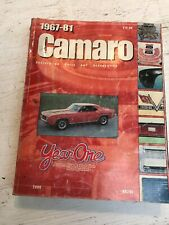 1967-81 Chevrolet Camaro  Restoration Parts and Accessories Catalog, Year One