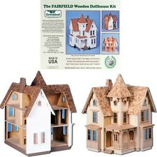 Corona Concepts 8015 Greenleaf The Fairfield Wooden / Wodd Dollhouse Kit