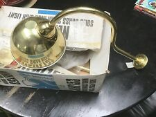 Traditional Solid Brass NEWLEC NLRL153 Swan Neck Sign Lamp/Light  -  Pub Light