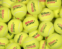100 used tennis balls FREE SHIP & FREE RECYCLING support RecycleBalls Non profit