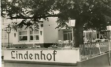 "Germany AK Osterspai  Osterspey - Restaurant ""Lindenhof"" old real photo postcard"