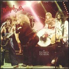NEW YORK DOLLS sealed In Too Much Too Soon Mercury #1001 vinyl  LP