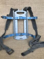 Vintage Scuba Diving Tank Backpack Dacor Straps Harness Alloy Plate Steel Bands