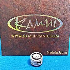 (1) Genuine SS KAMUI BROWN CLEAR Pool Cue Tip ( SUPER SOFT ) - w/ serial number