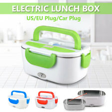 Portable Heated Electric Lunch Box Food Warmer Hot Meal Lunchbox 12V/110V/220V