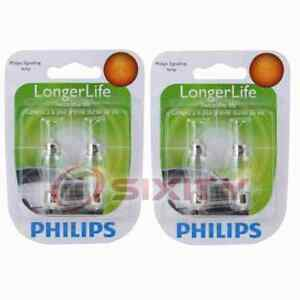 2 pc Philips License Plate Light Bulbs for Saturn LW1 LW2 LW200 LW300 ue
