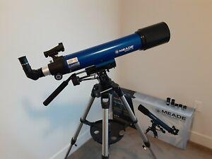 Meade Infinity 90mm Refractor Telescope (bonus plossl eyepieces)
