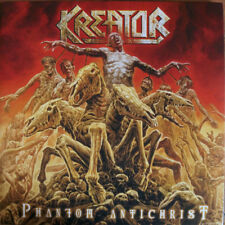 "Kreator ‎– Phantom Antichrist 2x 12"" Ltd Yellow Vinyl Gatefold New (2017) Metal"