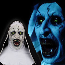 The Nun Mask Cosplay The Conjuring Valak Mask Full Head Horror Scary Props