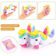 12cm Cute Unicorn Squishy Squeeze Relieve Stress Slow Rising Kid Toy Collection