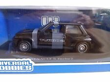 Renault 5 Turbo 2 Black Universal Hobbies 1/18