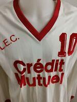 superbe maillot de football amateur vintage  taille xl  n°10