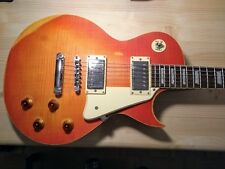 Vintage Icon Guitar V100 (Distressed Cherry Sunburst)