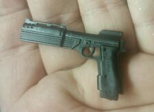 "1/6 Scale Beretta 93R (as the ""Auto 9"") Pistol custom  hand for 12"" figure"