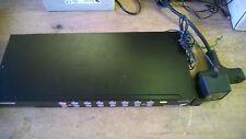 StarTech 16 Port StarView USB+PS2 KVM Switch Rack Mountable SV1631HD & adapter