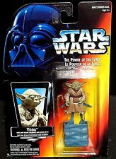 Vintage Star Wars Power of the Force YODA Frank Oz 1995 w/Jedi Trainer Backpack