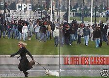 Coupure de presse Clipping 2006 CPE le défi des Casseurs  (12 pages)