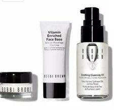 3pc Bobbi Brown Hydration Heroes Travel Face Base Cleansing Oil Eye Cream