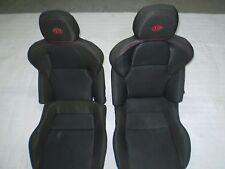 PAIR SEATS SPORT FABRIC CLOTH ALFA ROMEO 4C AS IN PHOTO