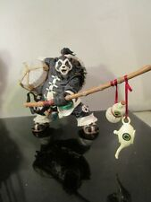 World of Warcraft Pandaren Brewmaster Deluxe Action Figure Loose