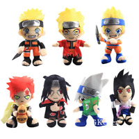 Anime Naruto plush Doll Figure Soft Toys Stuffed Kids Shippuden Uzumaki New Gift